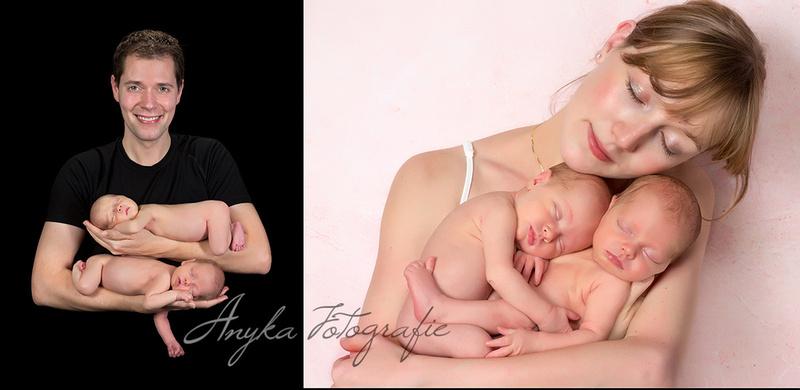 Newborn fotoshoots met tweelingen zijn niet eenvoudig 26405