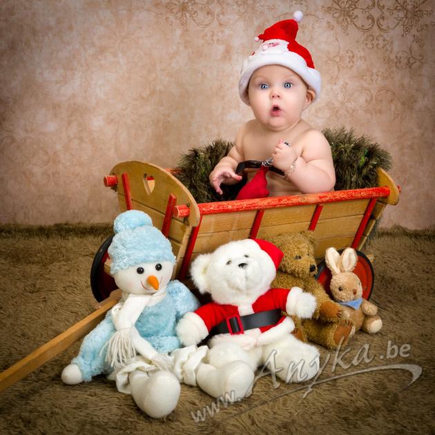 kerstfoto van baby 43275